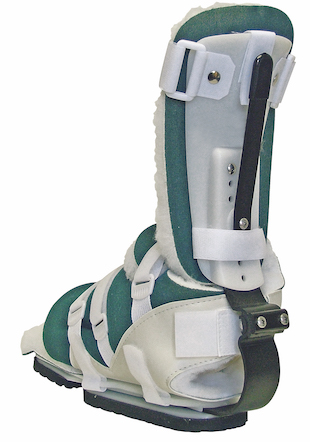 The PRAFO ankle foot orthosis designs are excellent when protection is needed in bed or when ambulant