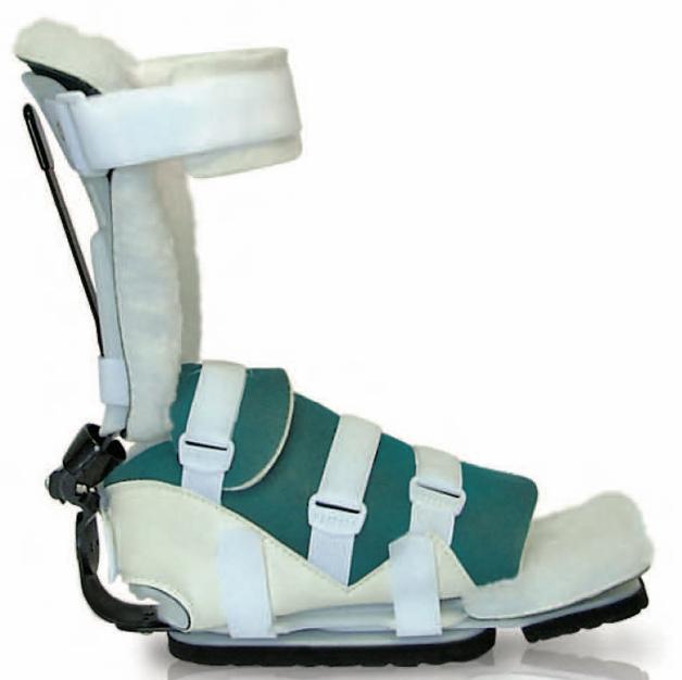 653SKG Dual Action PRAFO excels at ambulant heel protection