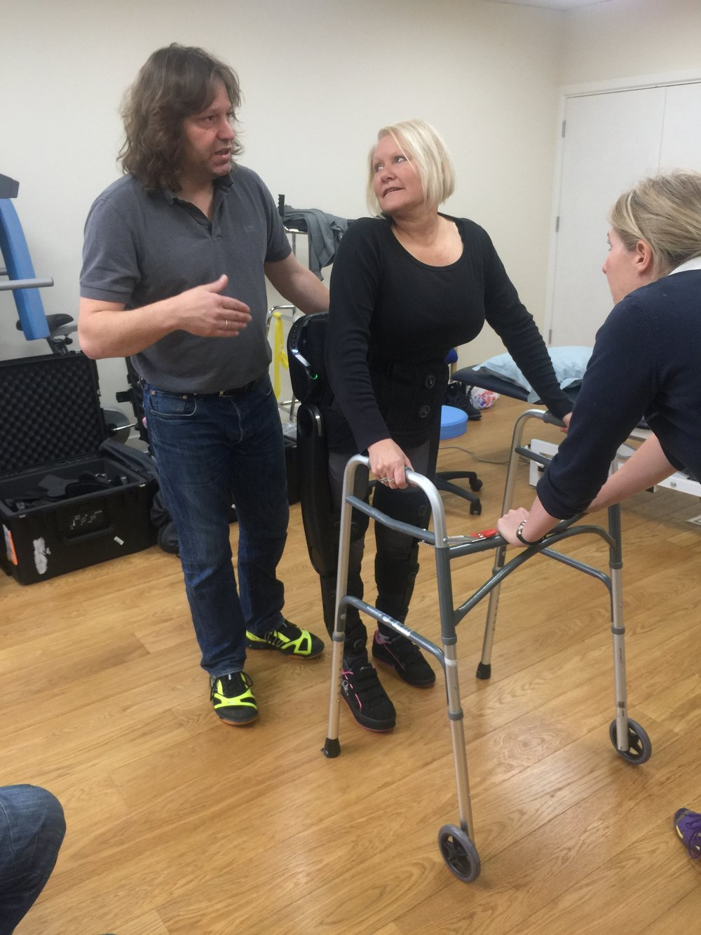 First steps with the Indego at More Rehab in Doncaster