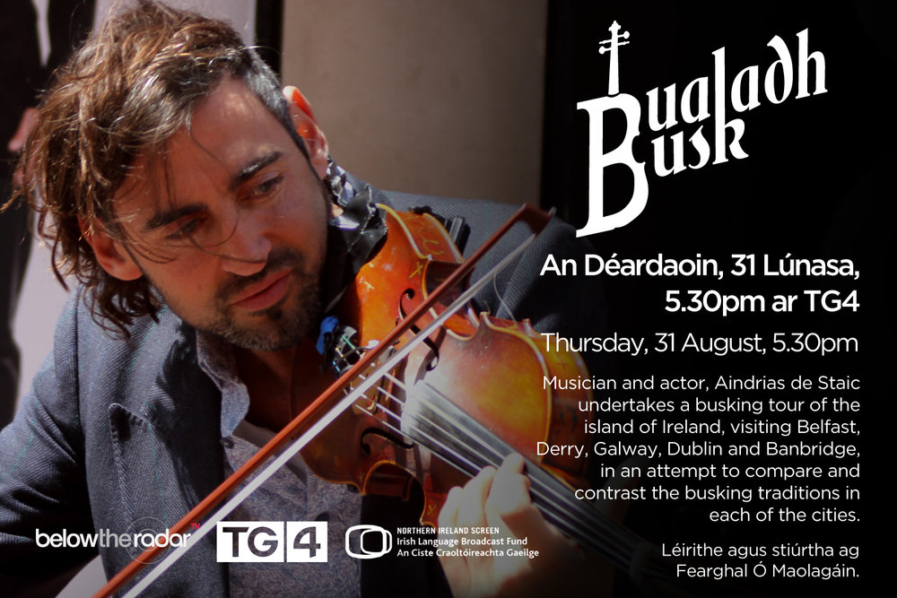 Bualadh Busk - for TG4