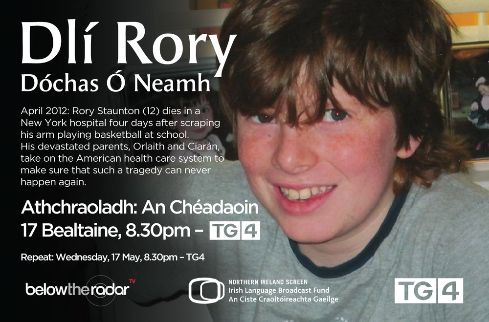 Dlí Rory Dóchas Ó Neamh - for TG4