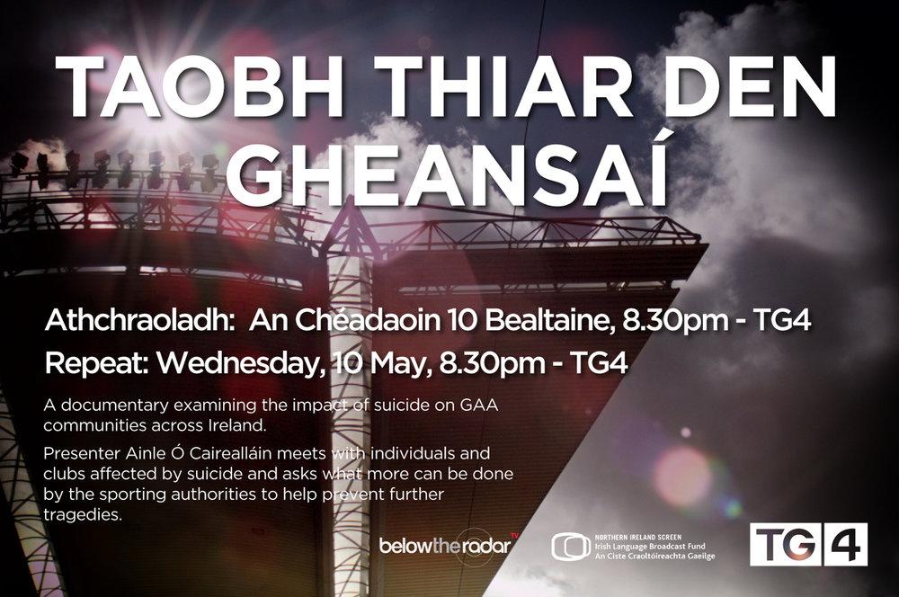 Taobh Thiar Den Gheansaí - for TG4