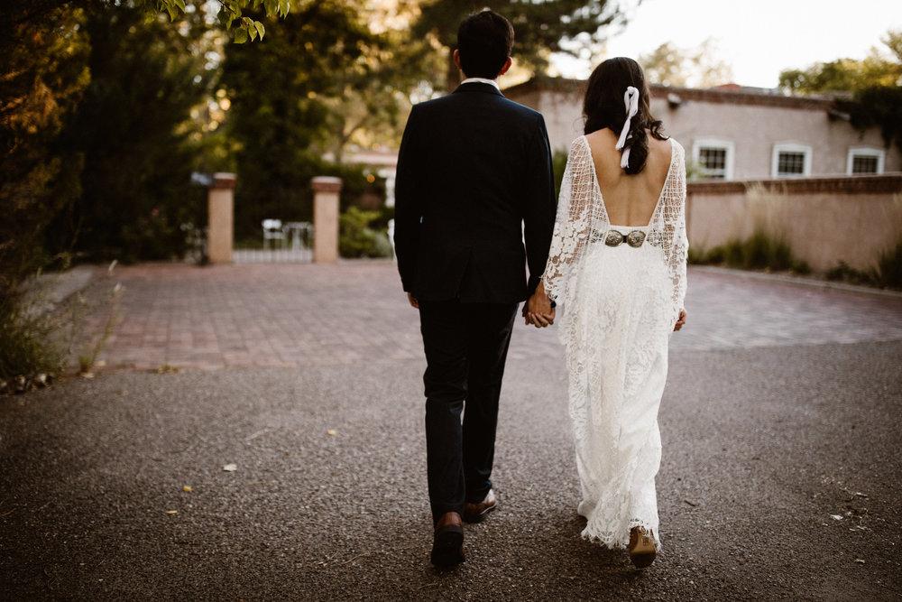 Ellesse & Guy | Wedding | Los Poblanos