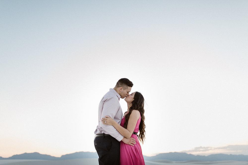 Kim & Jeff | Engagement | White Sands
