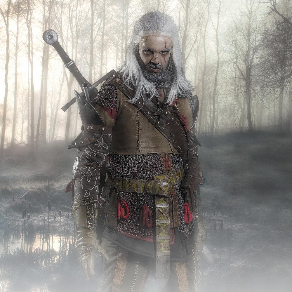 Geralt de Rivia @manlimacosplay