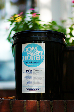1. CLEAN BINS          Each week we will provide you with 2 new clean compost bins that have been washed and sanitized.