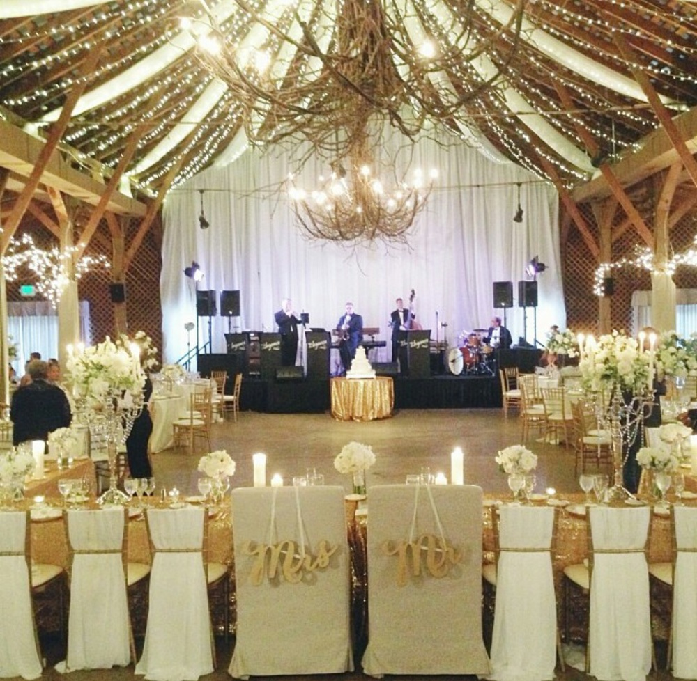 Perfect setting and decor for indoor reception