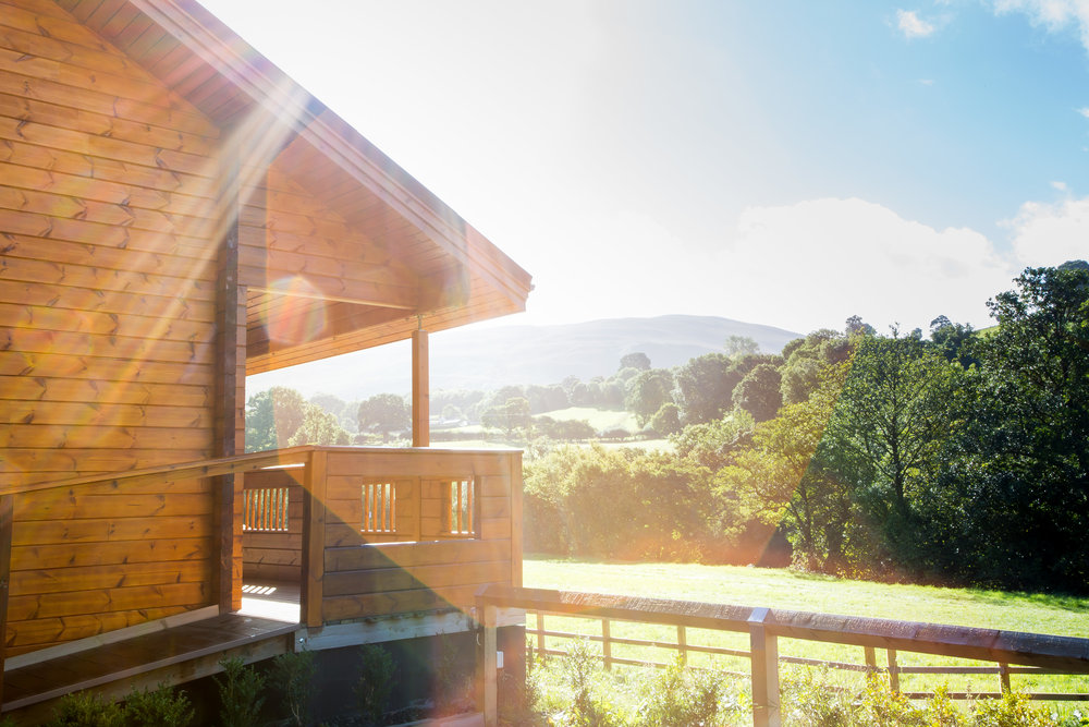 Peace and Tranquility   Coed-Y-Glyn Log Cabins    Things To Do