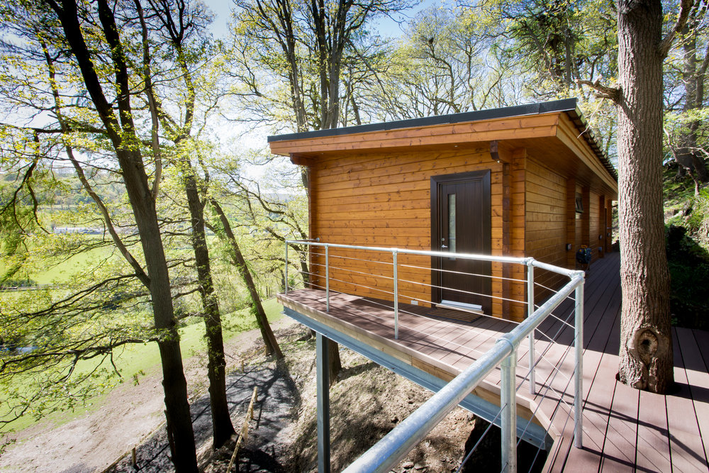 Looking For a Relaxing Getaway?   Coed-Y-Glyn Log Cabins    Take A Look