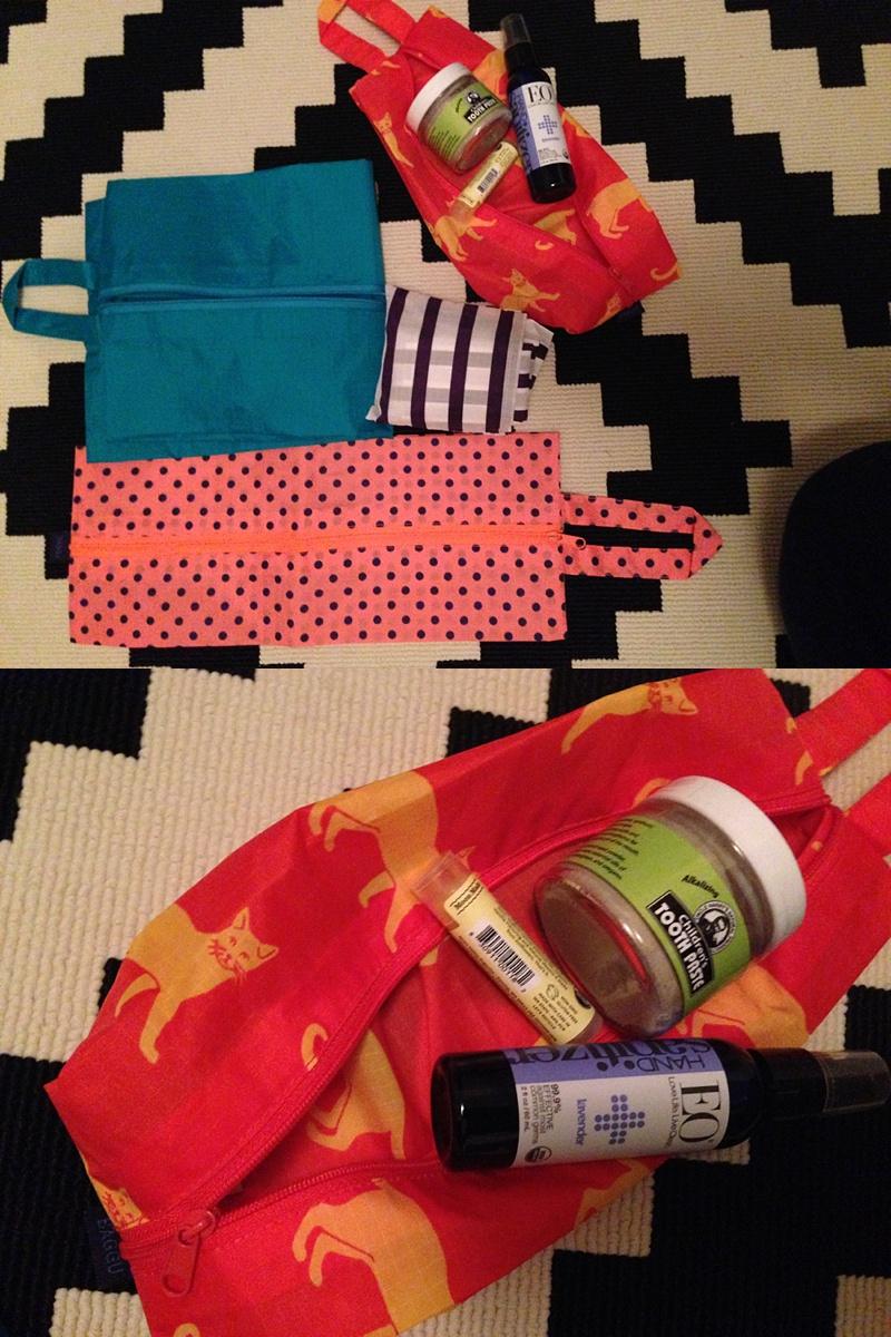 small baggu bags to organize things