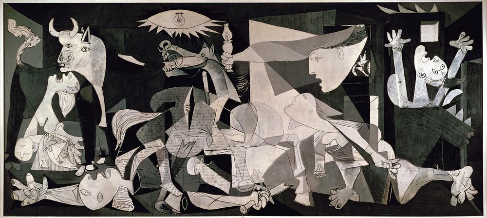 Guernica (1937, Pablo Picasso)