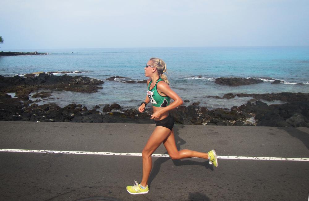 Polina Carlson_Kona Marathon
