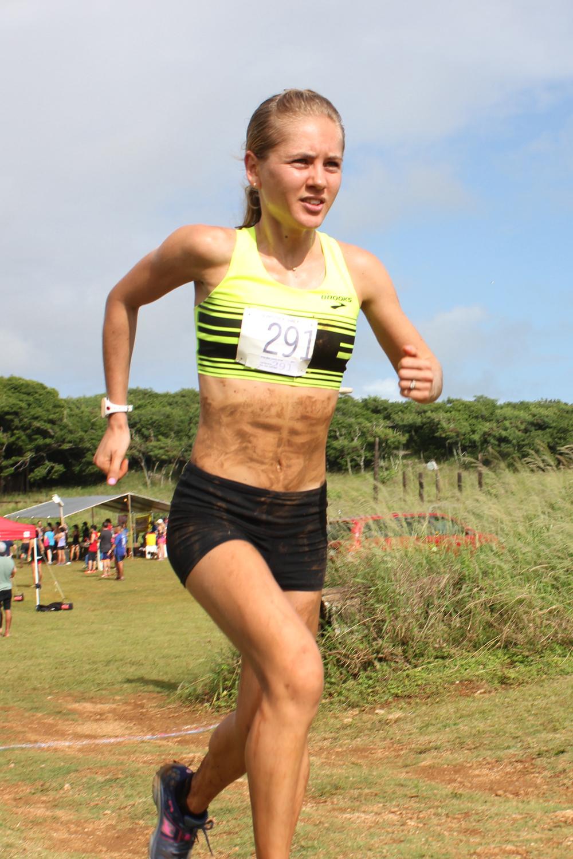 Polina Carlson XTERRA trail