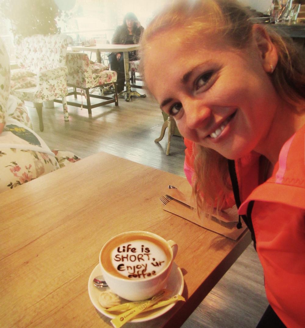 Polina Carlson coffee