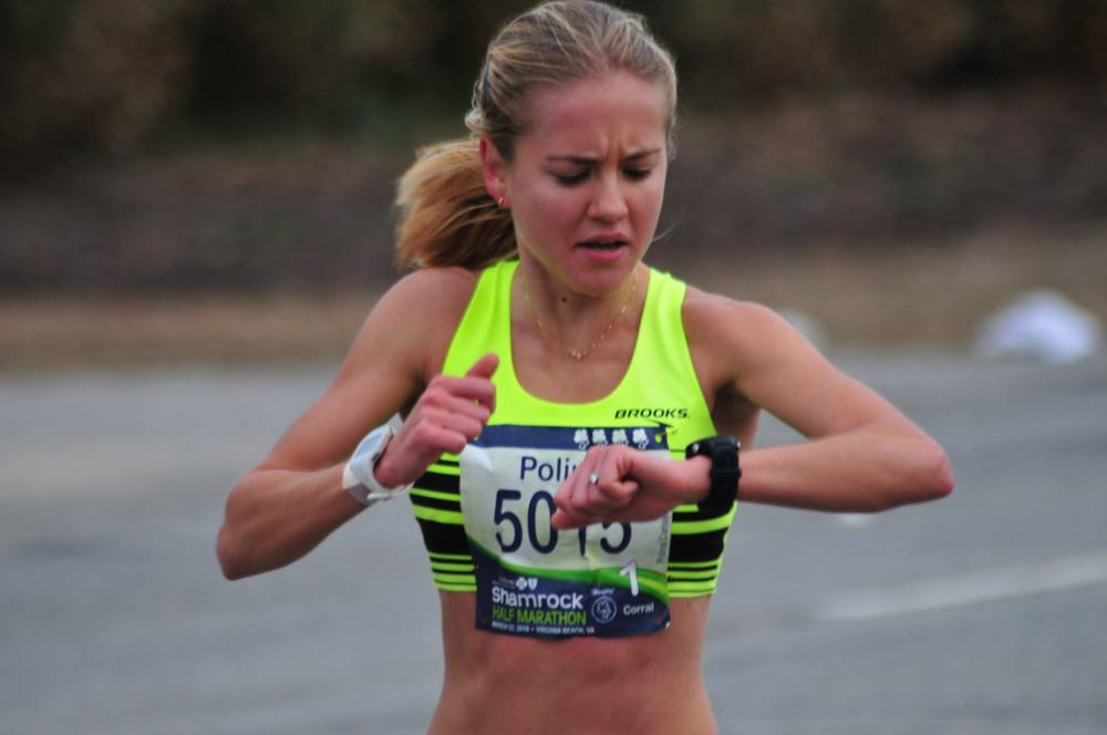 Polina Carlson half-marathon