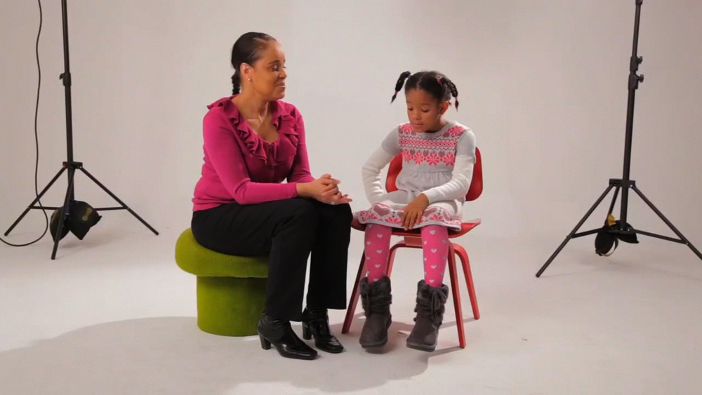 Maya's mom talks about her daughter's Selective Mutism in a film for the Child Mind Institute.