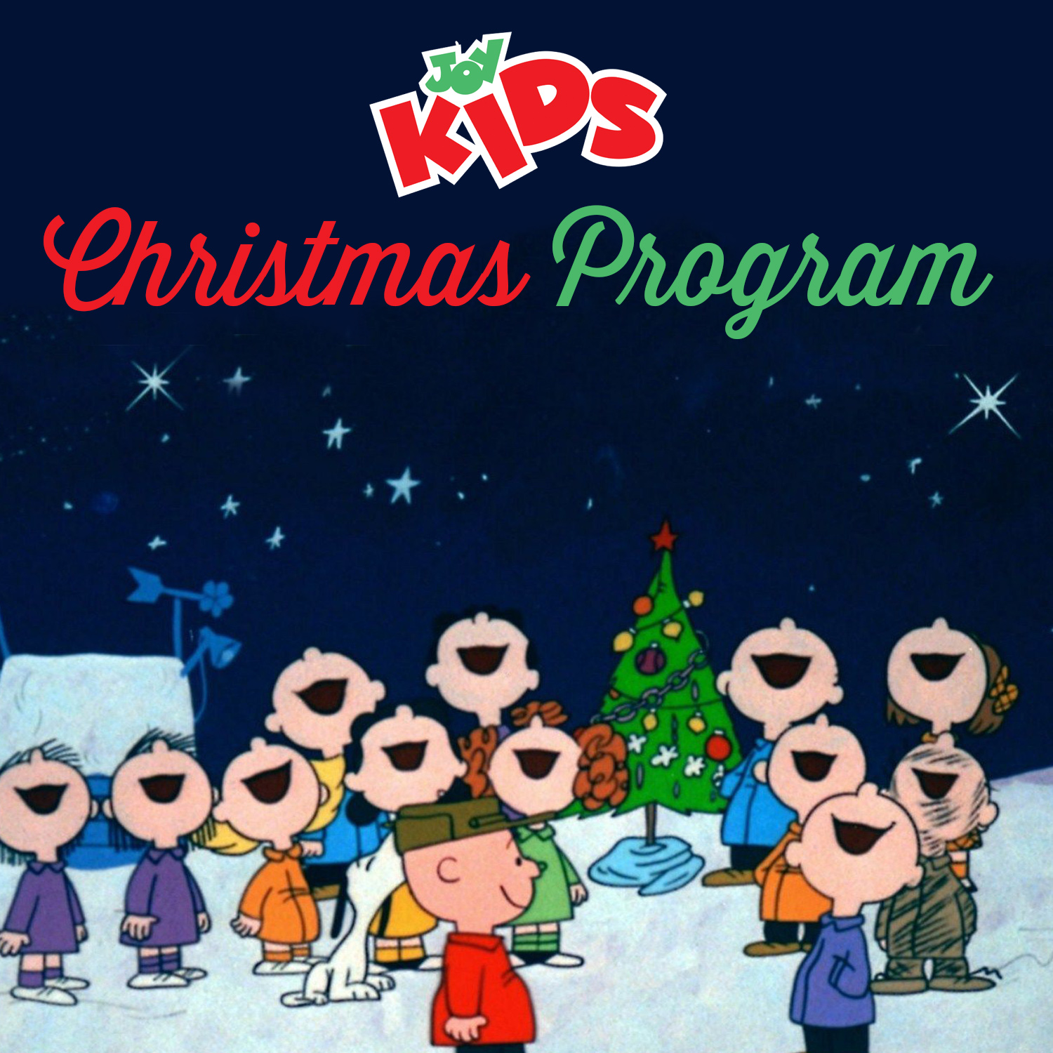 Joy Kids: Christmas Program — The Church of Joy