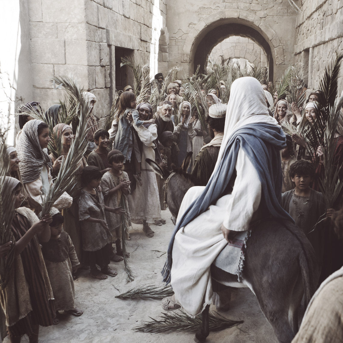 The Triumphal Entry (Palm Sunday) — The Church of Joy