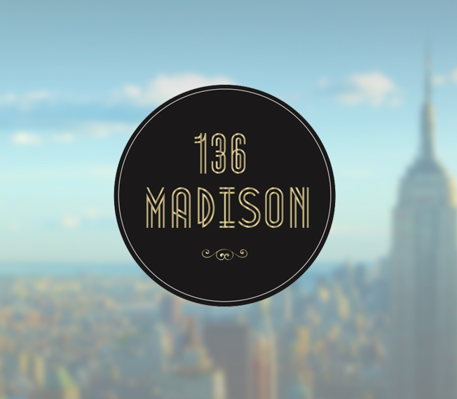 Logo Design for Colliers International 136 Madison Building