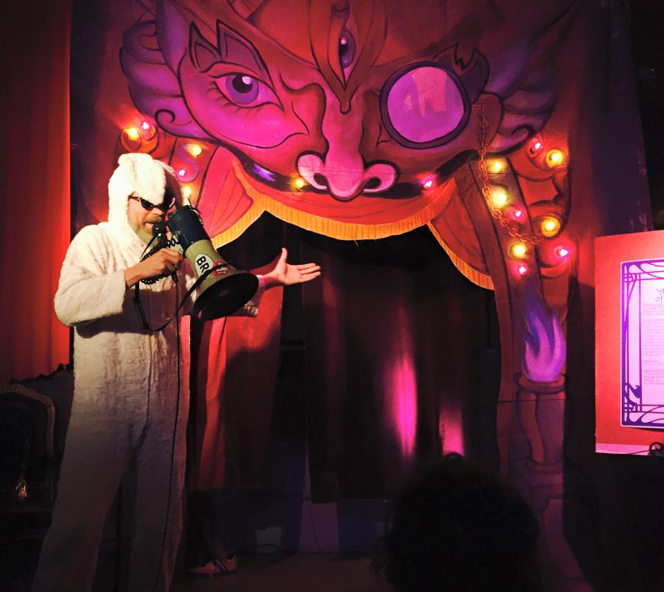 'Thank you to THE MYSTIC MIDWAY for creating a forum in which our alter-egos can have a voice!'