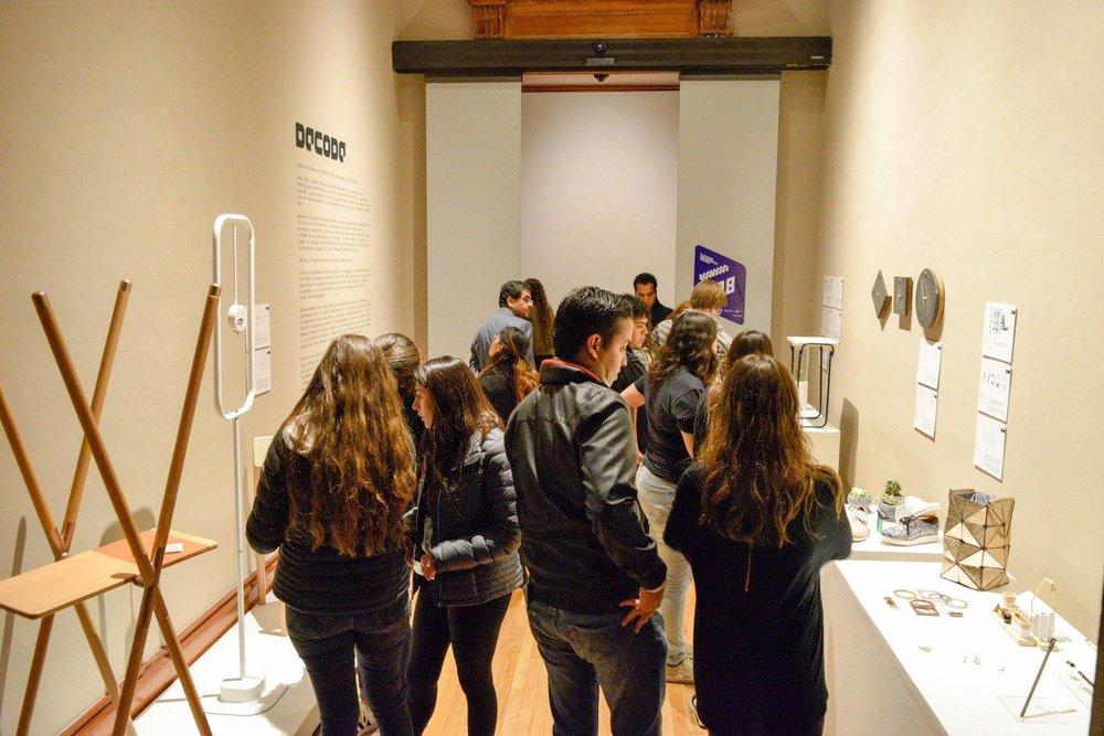 Exposición en el Abierto Mexicano de Diseño