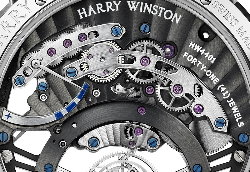 Harry Winston Ocean Tourbillion Jumping Hour