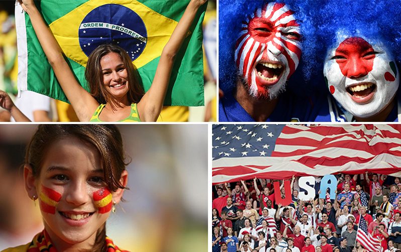 Fans from all corners of the globe will converge onto Brazil in June-July