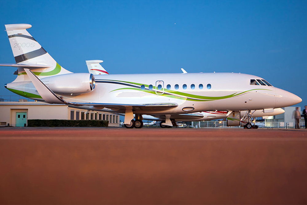 The maneuverability and fuel efficiency of the Falcon 2000 is the main reason for the aircraft's increasing popularity
