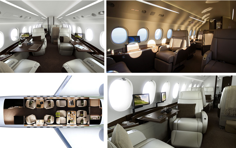 Aircraft's Interior - Ablend of beauty, function and design