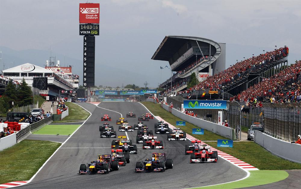 Circuit de Barcelona-Catalunya - Always action-packed
