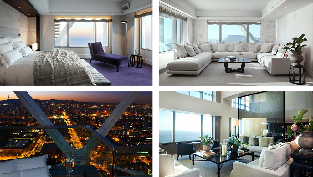 Suites at Hotel Arts Barcelona