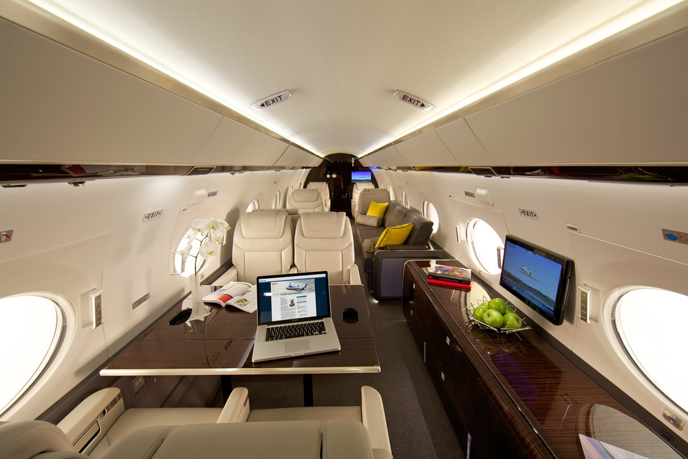 Gulfstream G650 Interior - Spacious and Comfortable