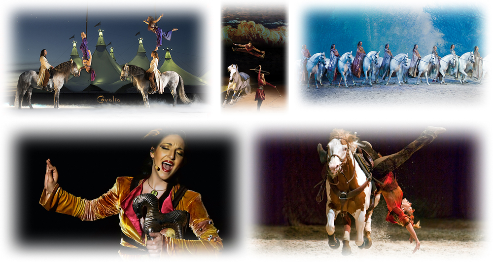 Cavalia features 50 magnificent horses, 44 riders, aerialists, acrobats, dancers and musicians from all over the world, performing breathtaking acts that is certain to amaze.