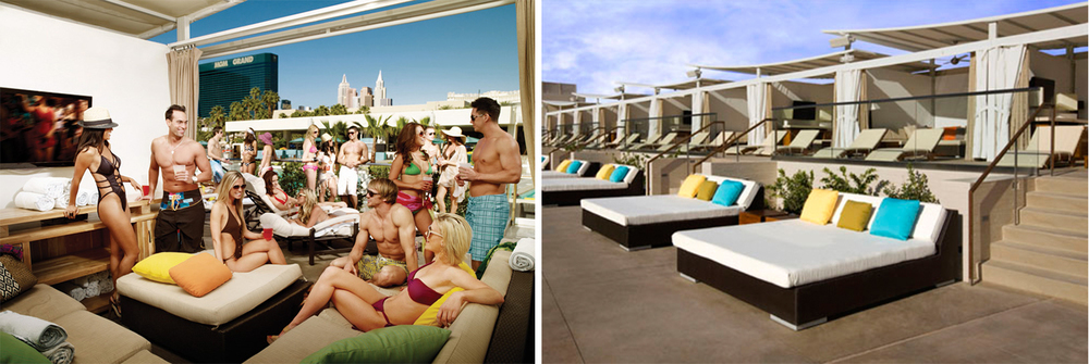 VIP Experience - Wet Republic Ultra Pool offers world-class VIP poolside experiences.