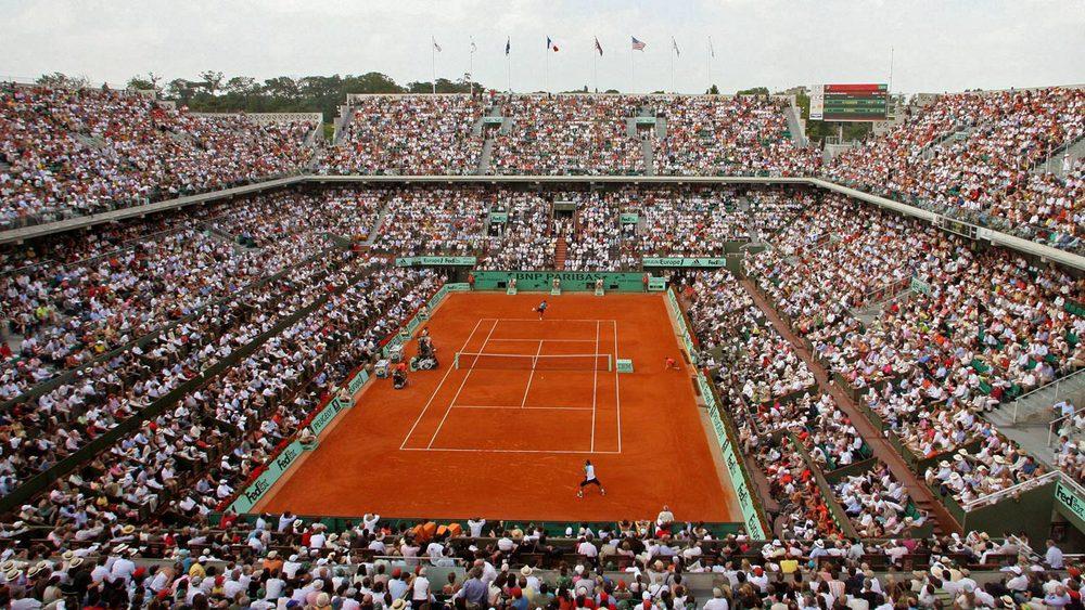 The Famous Roland Garros Center Court Stadium