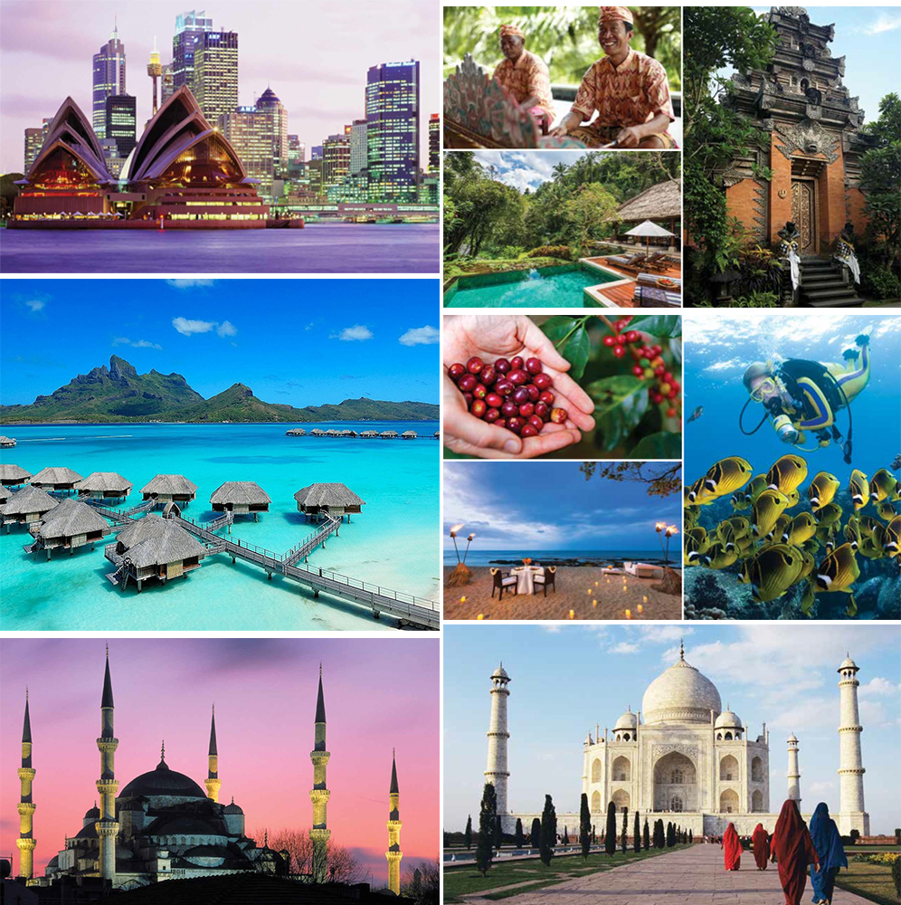 """First Bespoke journey is the """"Around the World"""" journey, featuring nine countries in 24 days, starting in Los Angeles (Februrary 9, 2015) and concluding in London (March 4, 2015)."""