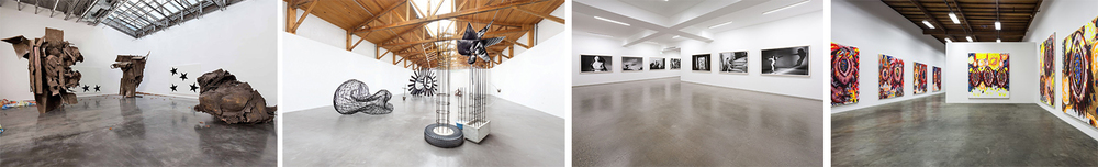 Frieze features world-class galleries that include (From Left to Right) Gladstone Gallery, New York; Kurimanzutto, Mexico City; Taka Ishii Gallery, Tokyo; and The Box, Los Angeles.