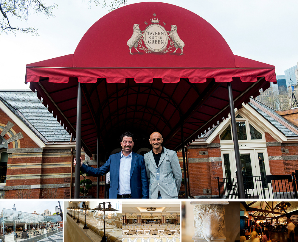 Owners Jim Caiola (Left) and David Salama (Right) of Emerald Green Group invested $17 million to give the restaurant a complete makeover.