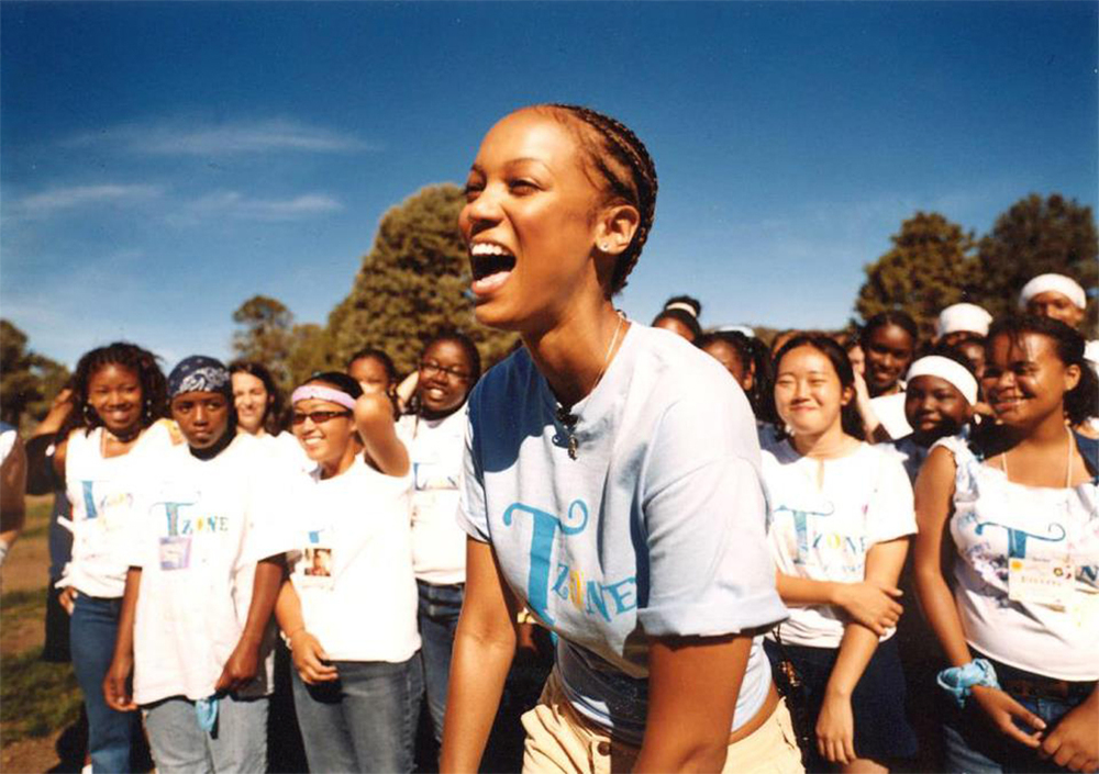 Tyra Bank's TZONE program has been providing leadership programs for New York's Girls Club since 1999.