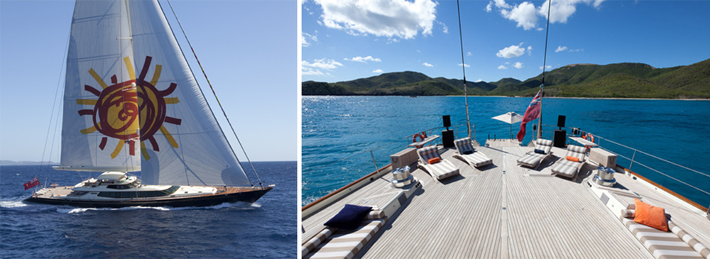 TIARA IS ONE OF THE MOST POWERFUL SAILING YACHTS IN THE WORLD