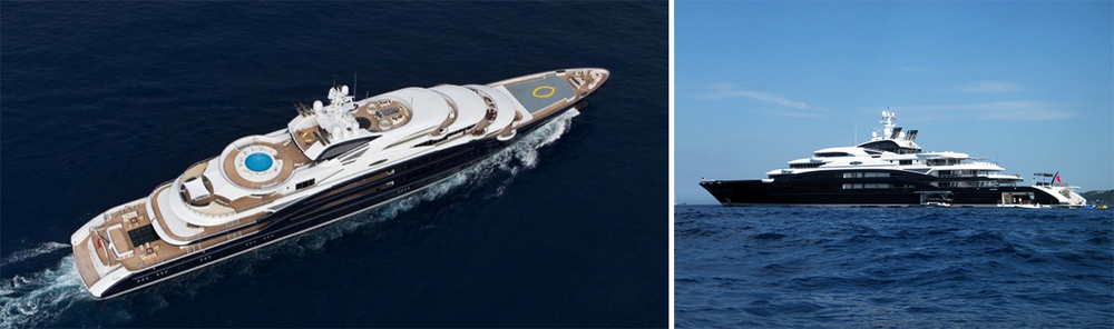 At 436ft, the Serene is one of the largest and most luxurious superyacht on the water.