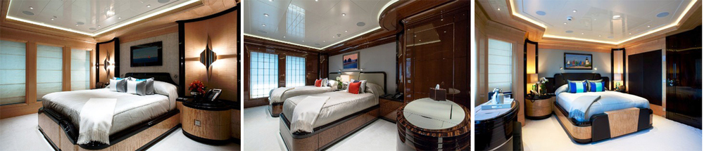 The Excellence V has 7 stylish cabins that can accommodate up to 12 guests.