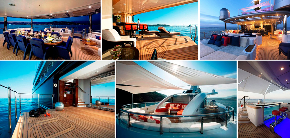With 5 Impressive Decks Aboard The Excellence V Offer An Abundance Of Outdoor Spaces For