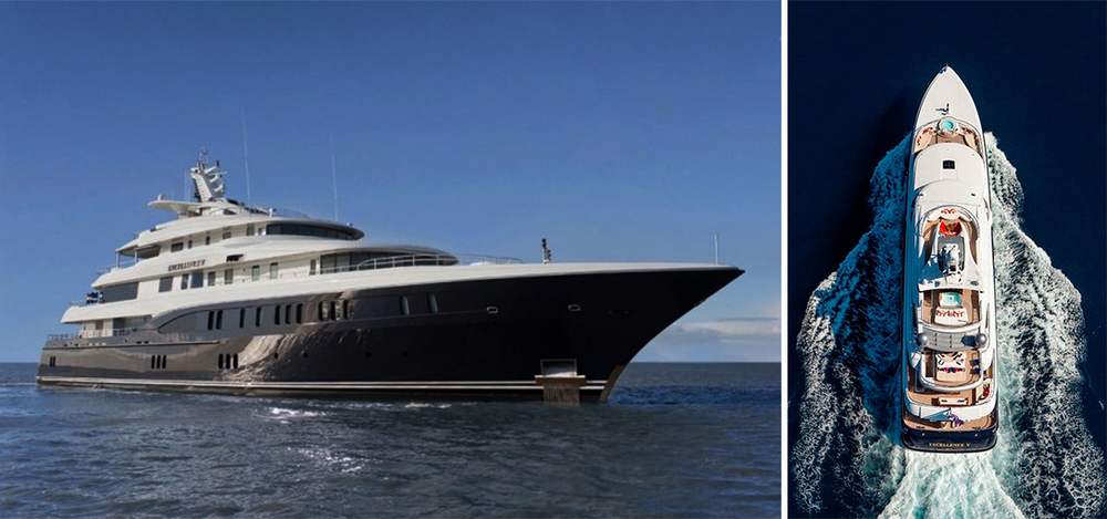 The Excellence V is arguably the most featured-packed yacht of its class.