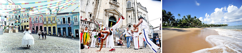 Salvador is rich with culture, history and breathtaking natural beauty.