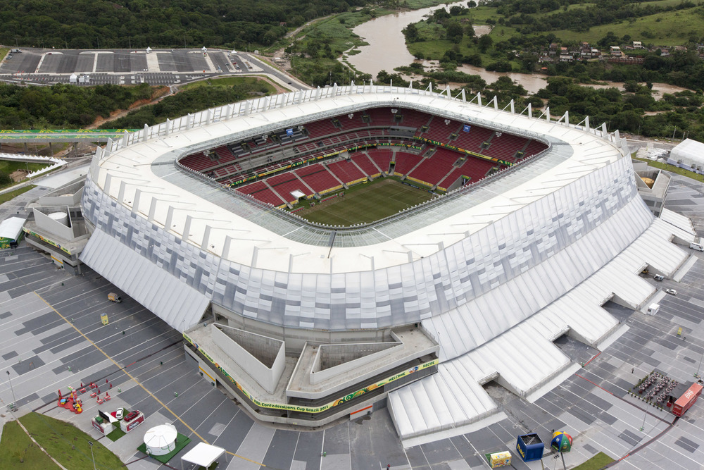The 42,583 capacity Arena Pernambuco will play host to four group stage matches plus a Round of 16 match.