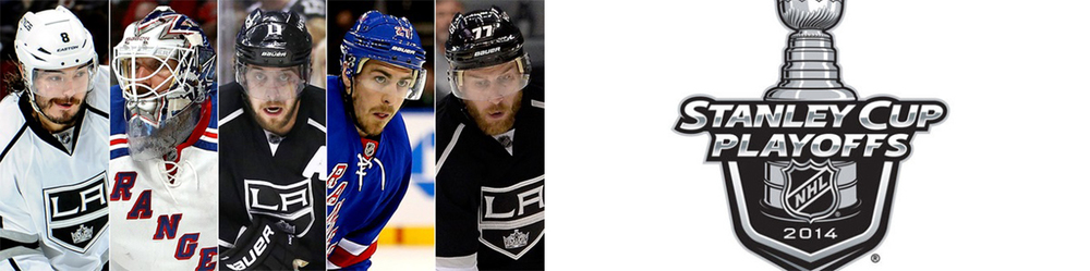 Eastern Conference Champions New York Rangers face of against the Western Conference Champs the Los Angeles Kings in what promises to be an epic Stanley Cup Final Series.
