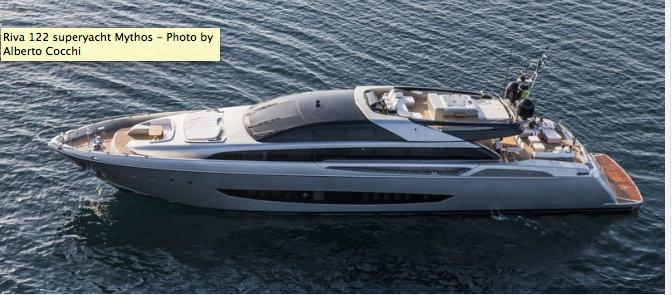 Riva 122 Mythos Yacht