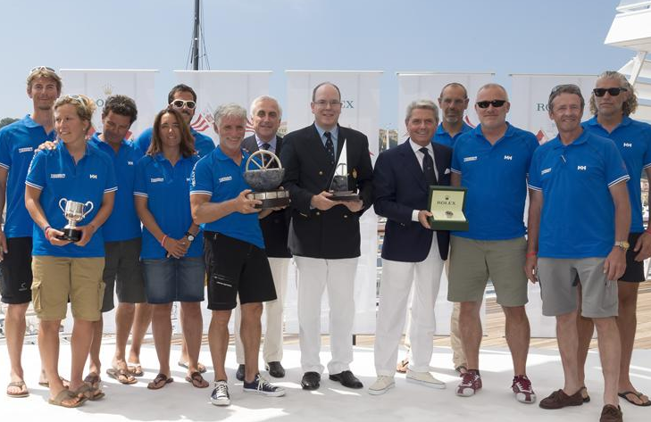 HISTORY-MAKERS The Swiss-French crew of Bernard Vananty's Tixwave are worthy winners of the overall prize for the offshore race. The team of Corinthians exemplify the spirit and dedication of all crews competing in the Giraglia Rolex Cup