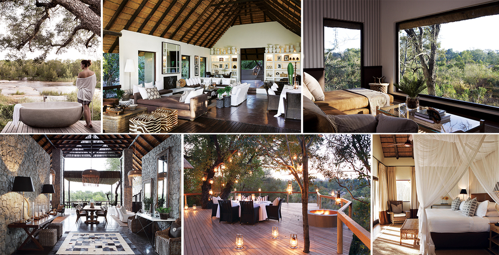 Sumptuous Living - Guests at Londolozi are treated to nothing less than 5-star accommodation